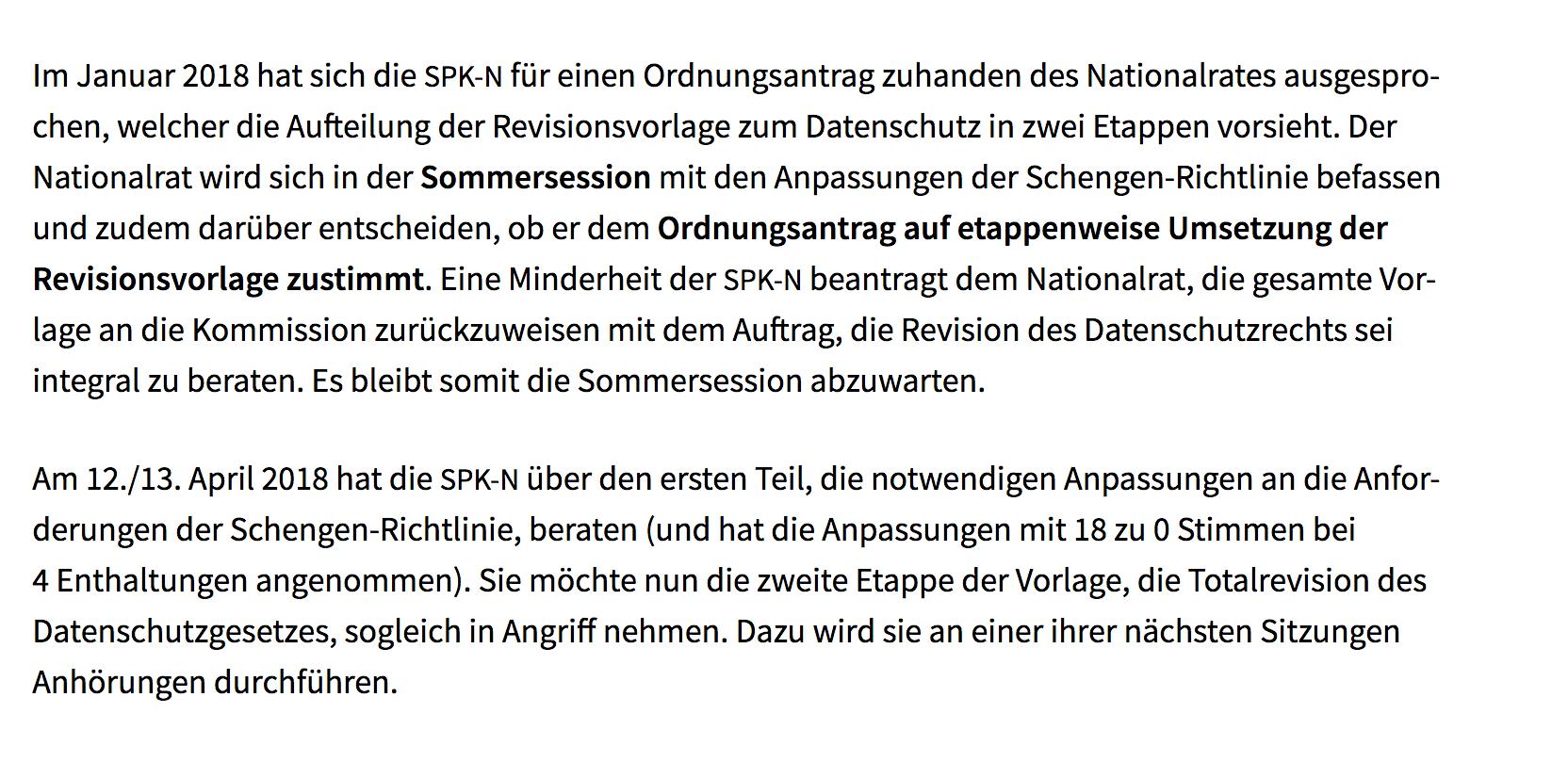 Datenschutzgesetz Datenrech.ch