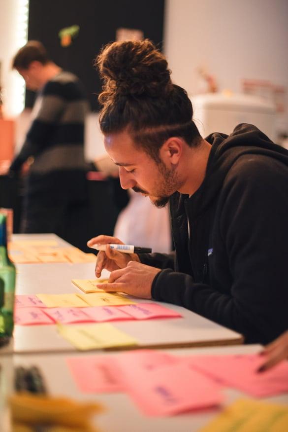 Brainwriting als Kreativmethode: Millennials geben Vollgas